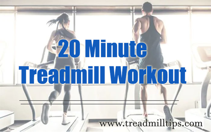 With this fabulous 20 minute treadmill workout, you can achieve your workout  goals and make strides in your fitness. So, how does it work?