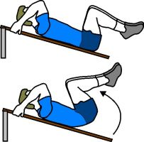 lower ab workout, reverse cruch