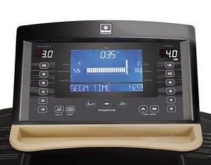 BodyGuard T460XC Treadmill Console