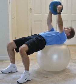 Russian Twist with Medicine Ball