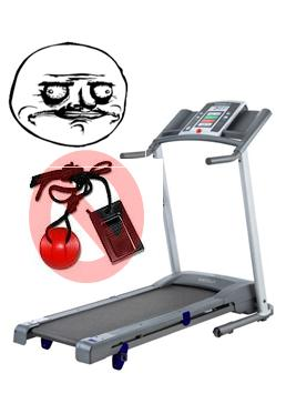 WESLO CADENCE TREADMIL, WON'T GO UNTIL YOU PURCHASE MORE ACCESORIES!