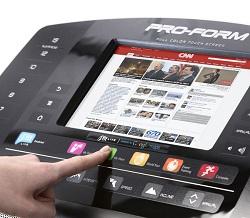 Proform Performance 1450 Treadmill Touch Screen