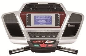 Sole F80 Treadmill Console