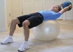Crunch with Medicine Ball
