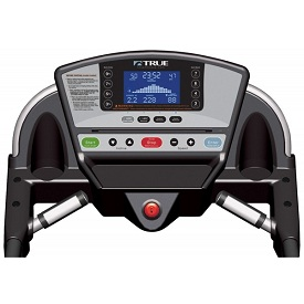 True M50 treadmill console