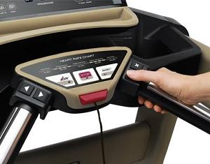 BodyGuard T460XC Treadmill Heart Rate Grip
