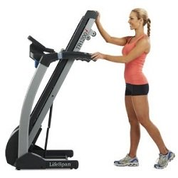 Lifespan TR1200i Treadmill Folded