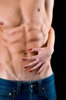 ripped abs, six pack abs