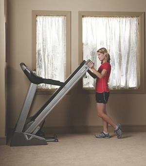 Spirit XT285 Treadmill Folding